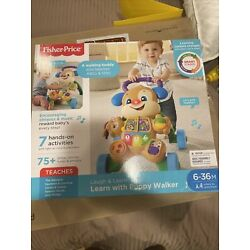 Fisher Price Laugh and Learn Learn With Puppy Walker