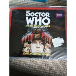 DOCTOR WHO: DEADLY ASSASSIN, GEOFFREY BEEVERS, BBC AUDIOBOOK 4 CD new and sealed