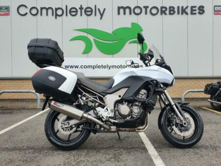 KAWASAKI VERSYS 1000 2012 - FULL LUGGAGE - ONLY 9894 MILES FROM NEW