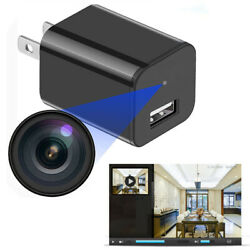 Mini Spy Hidden Camera Phone Charger Adapter Motion Detection Home Security