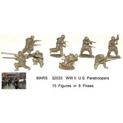 Kyпить 32033 Mars 1/32 WWII U.S. Paratroopers toy soldiers 15 in 8 на еВаy.соm