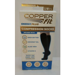 Copper Fit Energy Plus Compression Socks Size S/M- Buy More & Save!!!