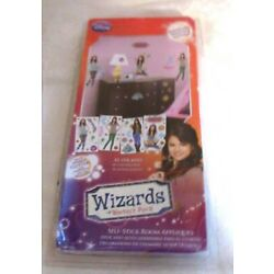 Disney Wizards Of Waverly Place Self-Stick Room Appliques NIP