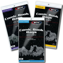 Premade CURRENT, SILVER & GOLDEN Age Comic Book Bags & Boards Combo