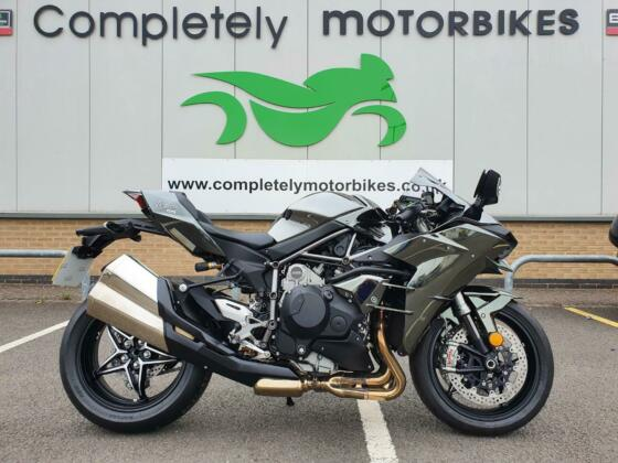 KAWASAKI NINJA H2 2019 - ONE OWNER - ONLY 2 MILES FROM NEW! - W