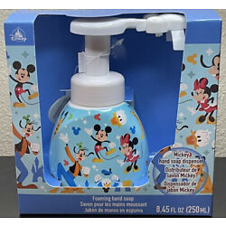 DIsney Parks Mickey Mouse Shaped Foaming Hand Soap Dispenser New Sealed