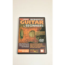 Dave Kilminster Acoustic Guitar For Beginners  - Lick Library - DVD
