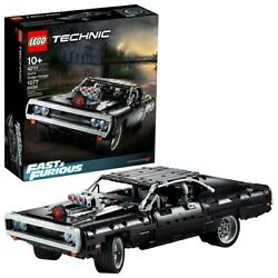 LEGO Technic Fast & Furious Dom's Dodge Charger 42111 Race Car Toy Building Set