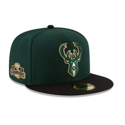 Milwaukee Bucks New Era 2021 NBA Finals Champions 59FIFTY Fitted Hat - PRE-ORDER