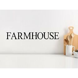 Story Of Home Decals Farmhouse Classic Kitchen Wall Decal