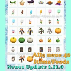 ???? Sommerparty ????Update 1.11.0   ???? Alle 40 Teile  Animal Crossing New Horizons