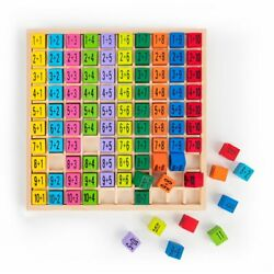 Wooden Addition Table Board Games Educational Toys Gift for Toddler & Kids US
