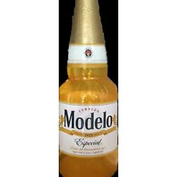 NEW Modelo Especial Cerveza Beer INFLATABLE BOTTLE Bar Decor Party ManCave Photo