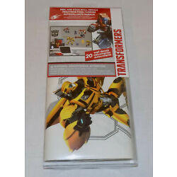 Transformers Giant Peel and Stick Wall Decals - 20 Decals - New!