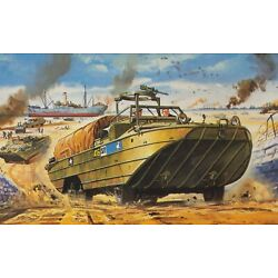 Airfix 02316V WWII US Army DUKW 1/76 Scale Plastic Model Kit