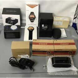 Lot of 7 New Electronic Items! Cameras, SmartWatches, PC Mouse