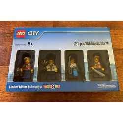 LEGO CITY JUNGLE WORKERS LIMITED EDITION TOYS R US EXCLUSIVE  4 FIGURE SEALED