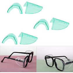 Hub s Gadget 3 Pairs Safety Eye Glasses Side Shields, Slip On Clear Side Shield