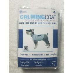 American Kennel Club Anti Anxiety/Stress Relief Dog Calming Coat - L - Gray