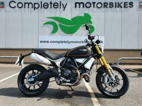 DUCATI SCRAMBLER 1100 SPORT 2018 - ONE PRIVATE OWNER - ONLY 4942 MILES FROM NEW