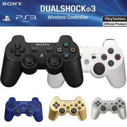 PS3 Wireless Remote Controller GamePads Dual Shock for PlayStation 3 (5 Color)