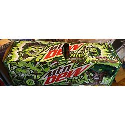 1 Case 12 Cans 2021 Mountain Mtn Dew THRASHED APPLE Kroger Exclusive