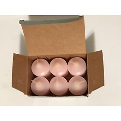 SPRING BLOSSOM Box of 6 by Partylite Votive Candles V0697 NIB Rare Discontinued
