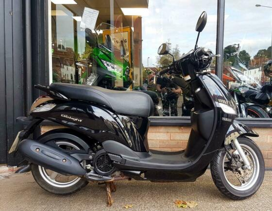 2014 YAMAHA DELIGHT 125 1 OWNER JUST 7470 MILES FROM NEW