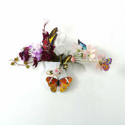12pcs 3D Butterfly Stickers Fluorescent Pin Type for Room Decoration