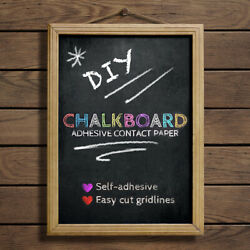 Duck Brand Chalkboard Liner 20 in x 10 ft Adhesive Laminate Writeable Surface