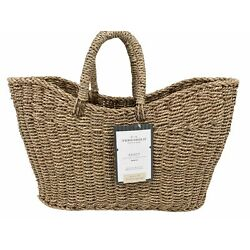 NEW Studio McGee x Threshold Tapered Oval Seagrass Braided Basket 16'' x 6'' x 13''