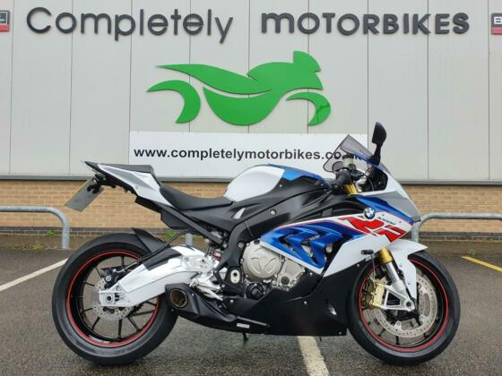 BMW S1000 RR SPORT 2018 - CS RACING EXHAUST - ONLY 5041 MILES FROM NEW