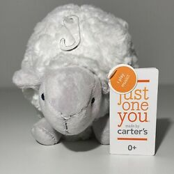 Carters White SHEEP Lamb Wind-Up Musical Plush Just One You Twinkle Little Star
