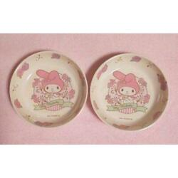 Price Cuts  My Melody Melody Bowl Small Bowl 2 Tableware Rose New Super Rare