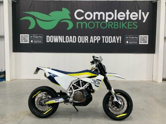 HUSQVARNA 701 SUPERMOTO 2019 - ONLY 2275 MILES FROM NEW!