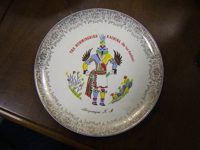 Collector Plate Albuquerque New Mexico 9 Quot Vintage Ebay