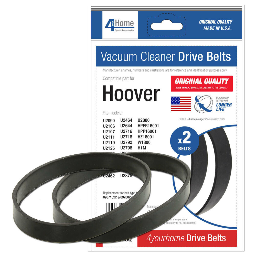 hoover vacuum belts hoover turbopower 2 amp 3 series vacuum cleaner belts x2 ebay 10570