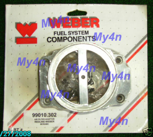 Toyota 20r Stock Air Cleaner Adapter Weber Carb