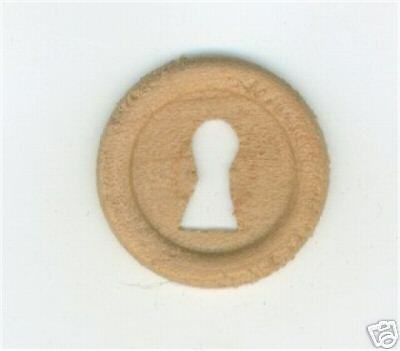 Furniture repair parts oak wood key hole cover w30115 ebay for 1 furniture hole cover