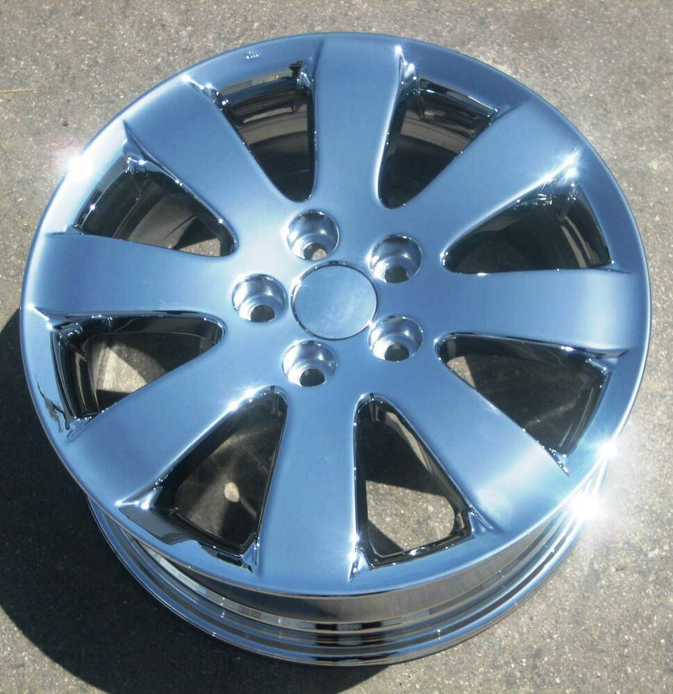 "2012 Toyota Camry Factory Rims: 4 NEW 17"" FACTORY TOYOTA AVALON CHROME OEM WHEELS RIMS"