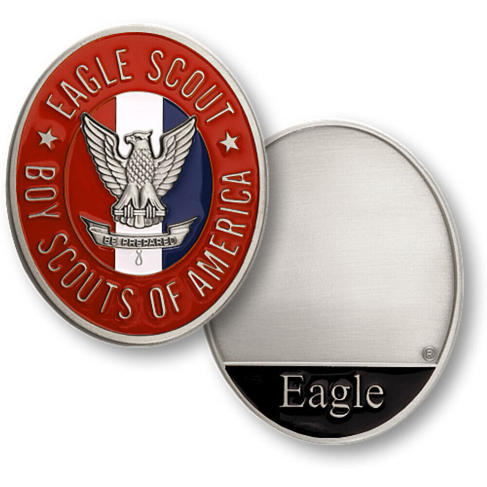 Eagle Scout Logo Boy Scouts Of America Eagle Scout Bsa Engravable 2amp039 Usa Made