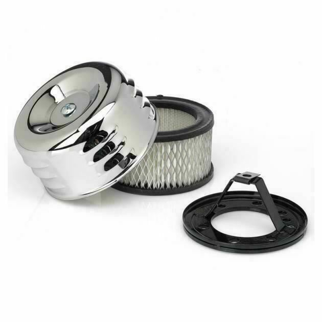 Moon Air Cleaner : Filtro de aire old school para harley davidson moon eyes