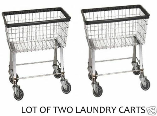 laundry cart on wheels 2 economy laundry cart 2 5 bushel with wheels amp basket ebay 10536