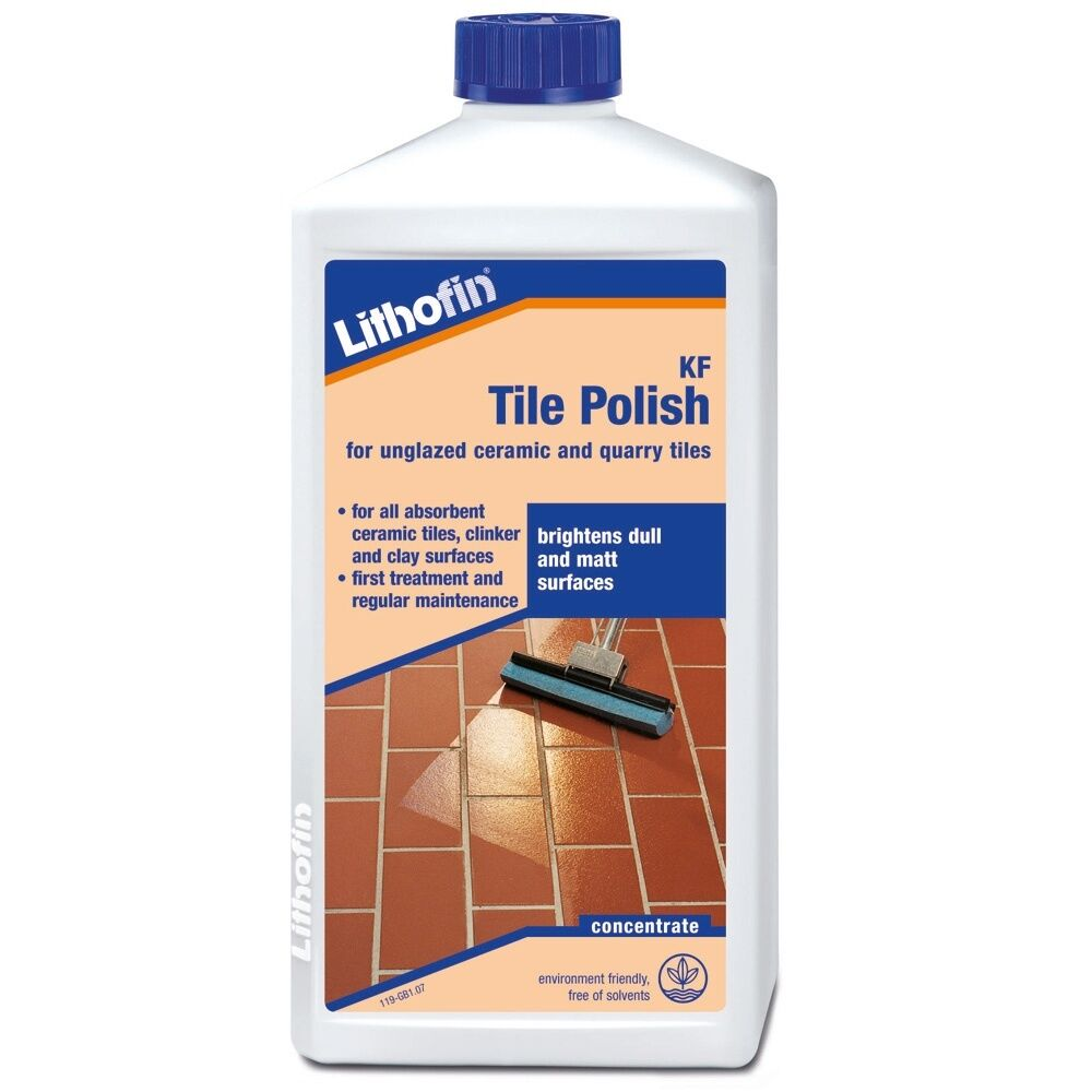 Lithofin Kf Tile Polish 1l Ceramic Quarry Sealer Ebay