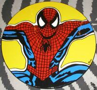 BOOM ART Deco Marvel Comics SPIDERMAN Occasional Table Marvel hand painted cool