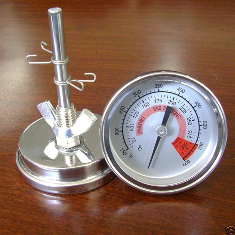 57 grill smoker bbq barbecue thermometer temp gauge uk ebay