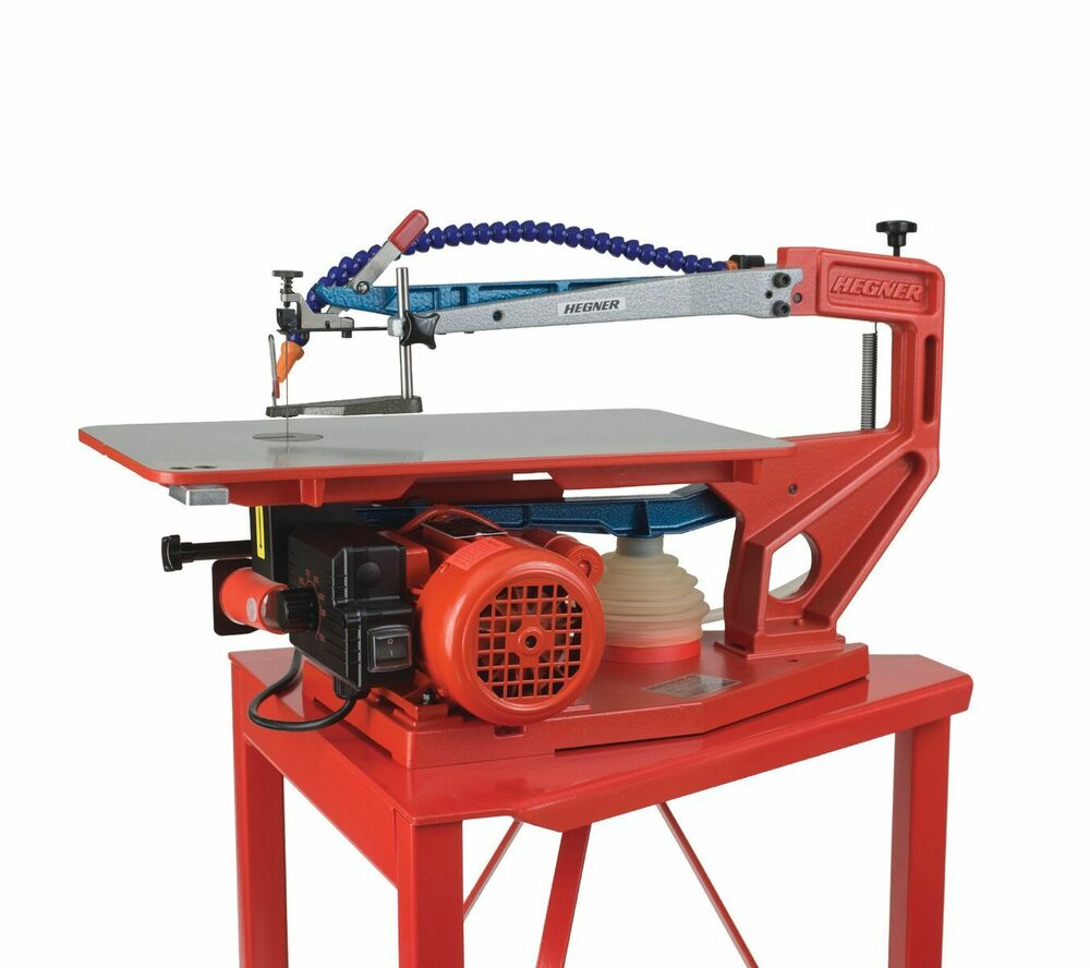 """HEGNER M18-V 18"""" Variable Speed Scroll Saw & Stand Brand ..."""