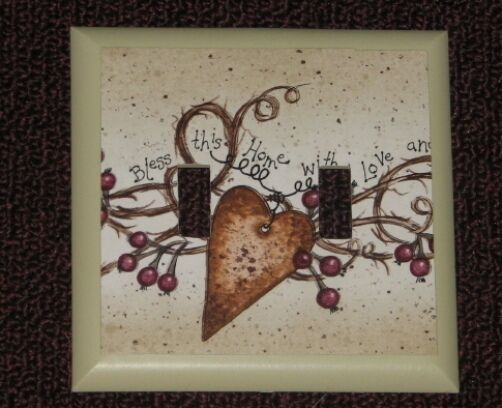 Hearts Berries Double Country Primitive double Switch  502 x 408 jpeg s-l1000.jpg
