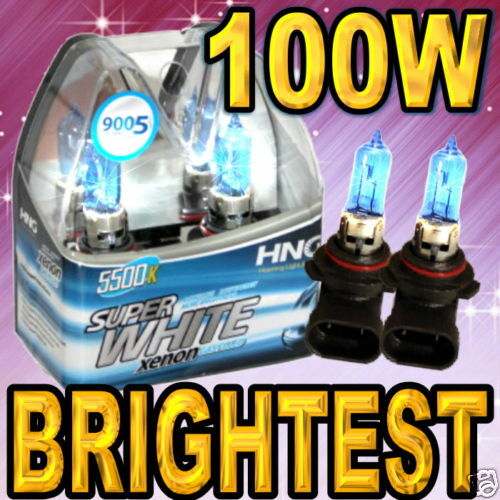 9005 Hb3 Xenon Hid Super White Headlight Bulb Brightest Ebay