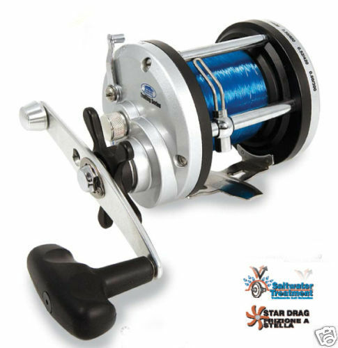 Lineaeffe jd300 multiplier fishing reel 20lb line sea for Ebay fishing reels
